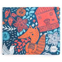 Бумажник Foxes, New wallet