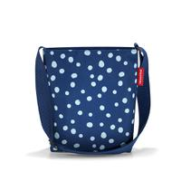 Сумка shoulderbag s spots navy, Reisenthel